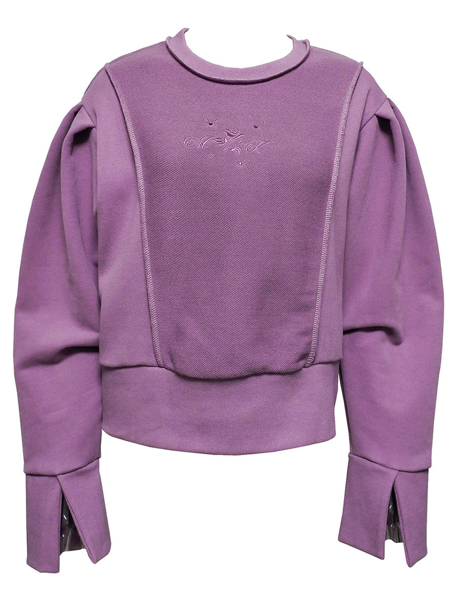 rose sweat shirt pink